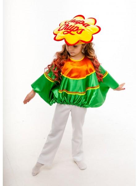 Карнавальний костюм Цукерка Чупа Чупс зелений