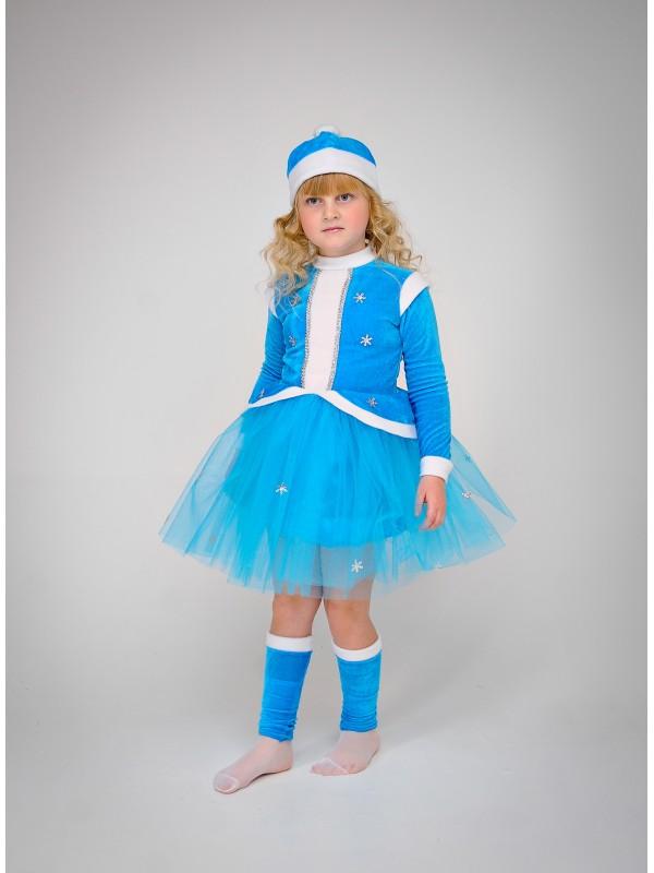 Карнавальний костюм Снігуронька (фатін)