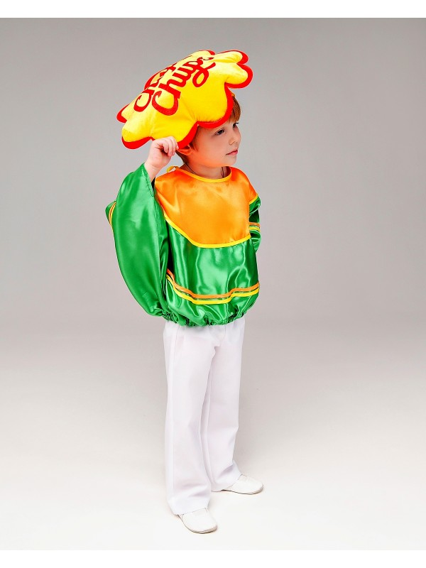 Карнавальний костюм Чупа Чупс зелений