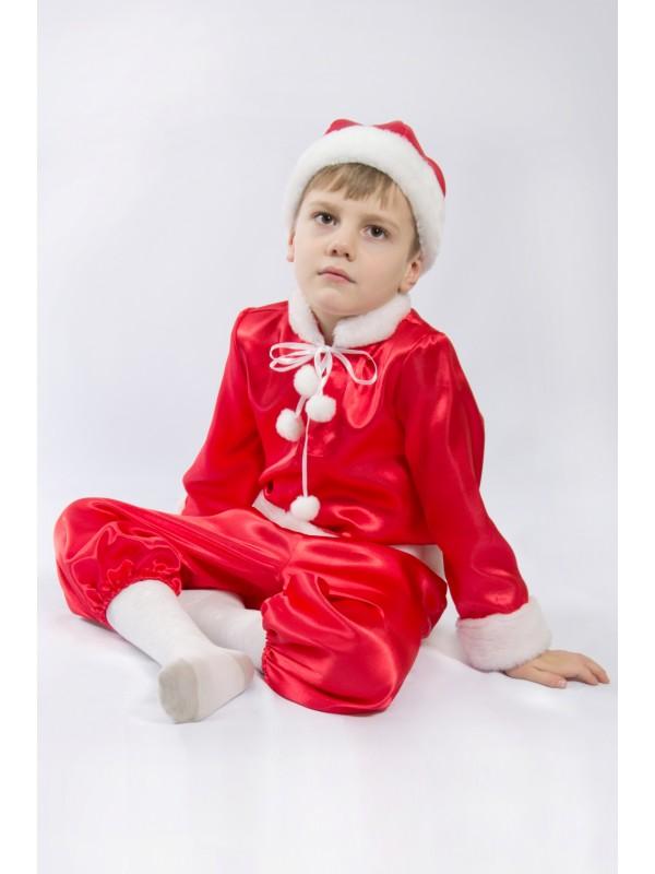 Карнавальний костюм Новий рік (червоний)