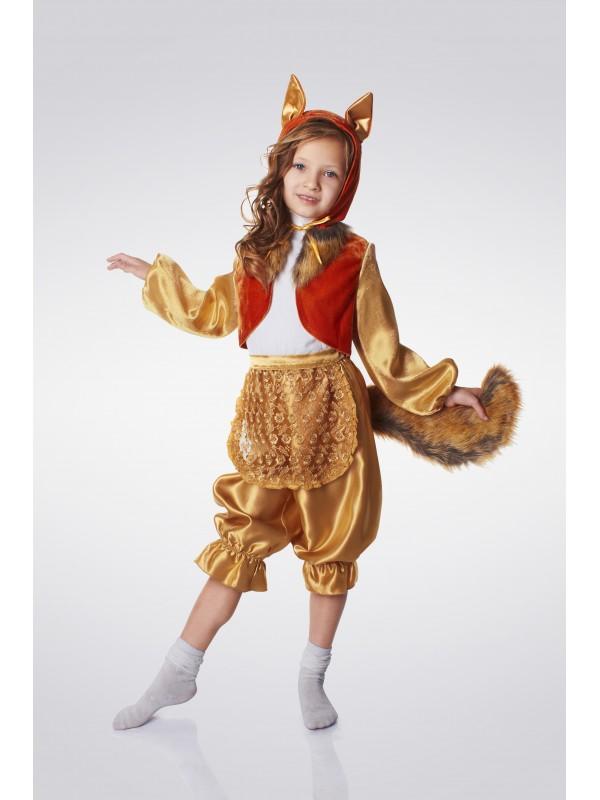 Карнавальний костюм Лисичка