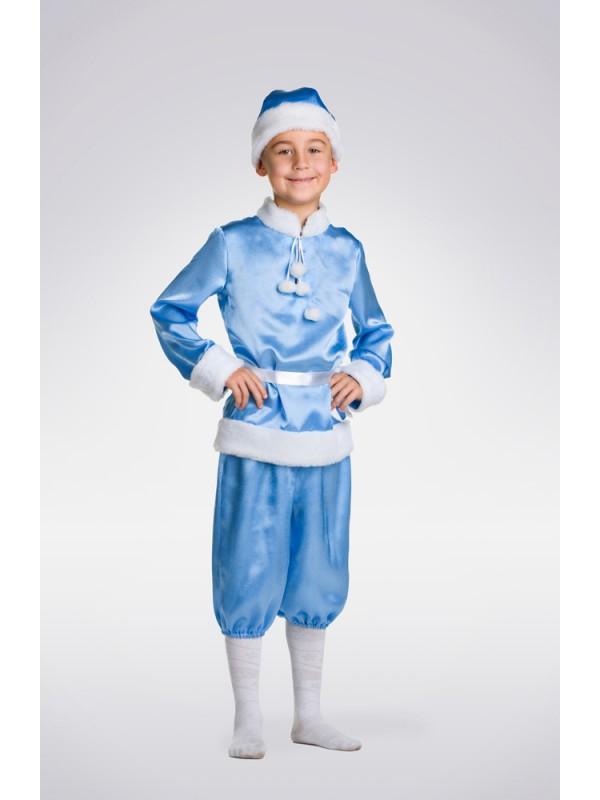 Карнавальний костюм Новий рік (синій)