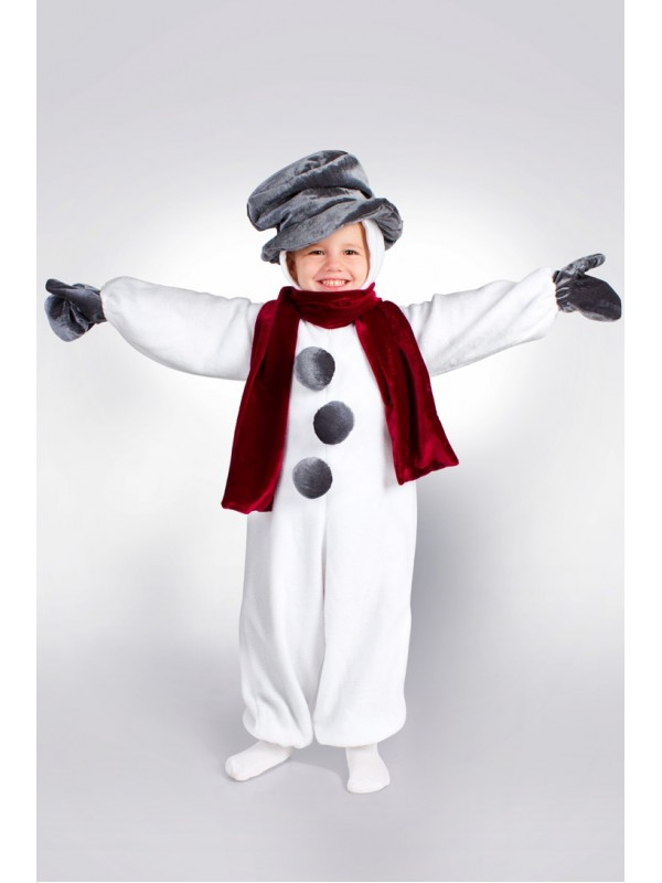 Карнавальний костюм Сніговик