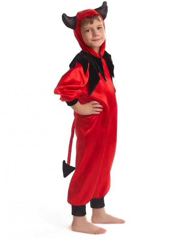 Карнавальний костюм Чортеня червоне