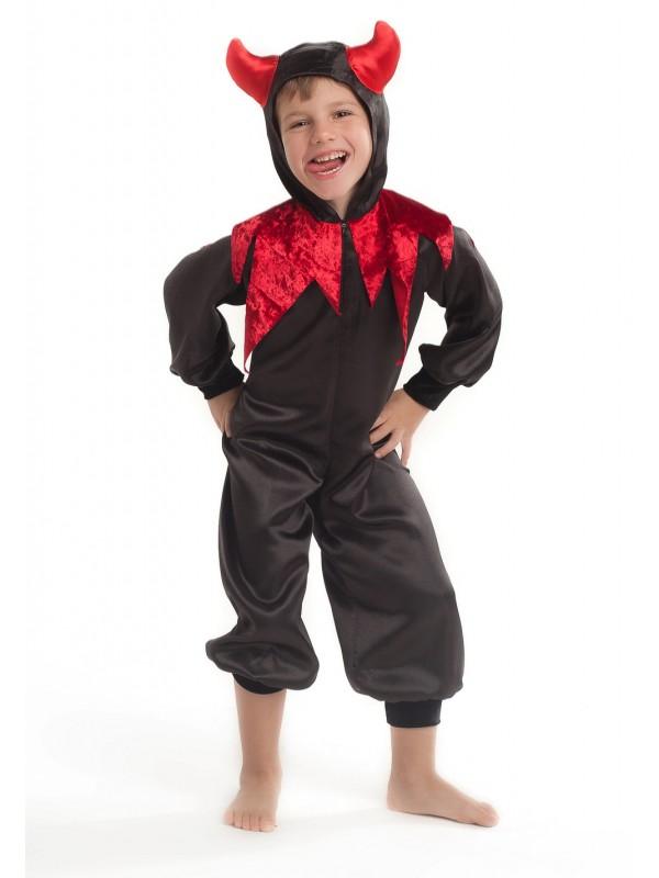 Карнавальний костюм Чортеня чорне