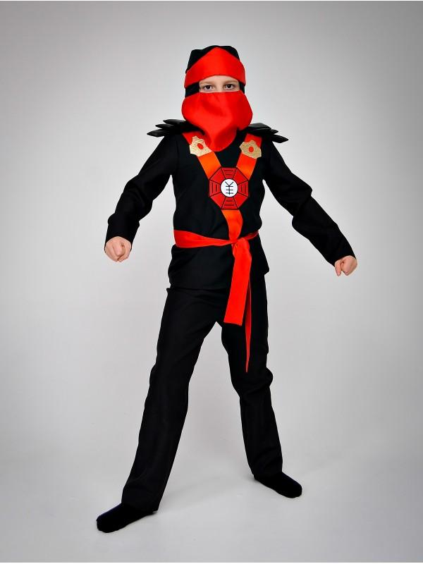 Карнавальний костюм Ніндзяго (червоний)