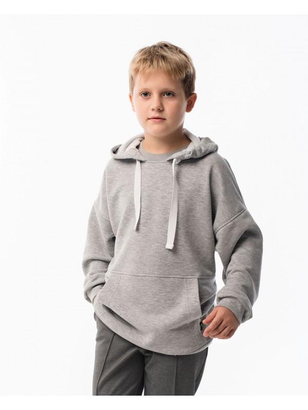 Худі для хлопчика Oversize сіре