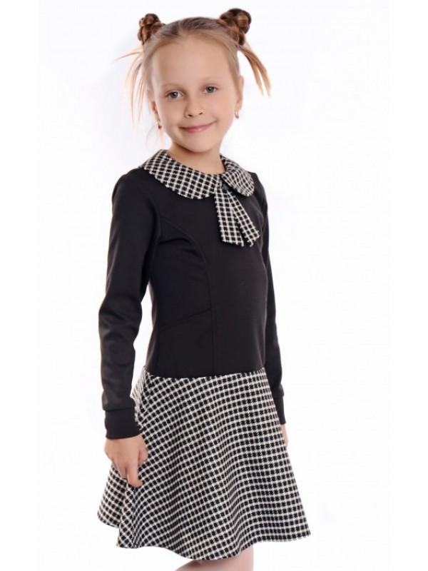 Плаття для дівчинки шкільне чорне