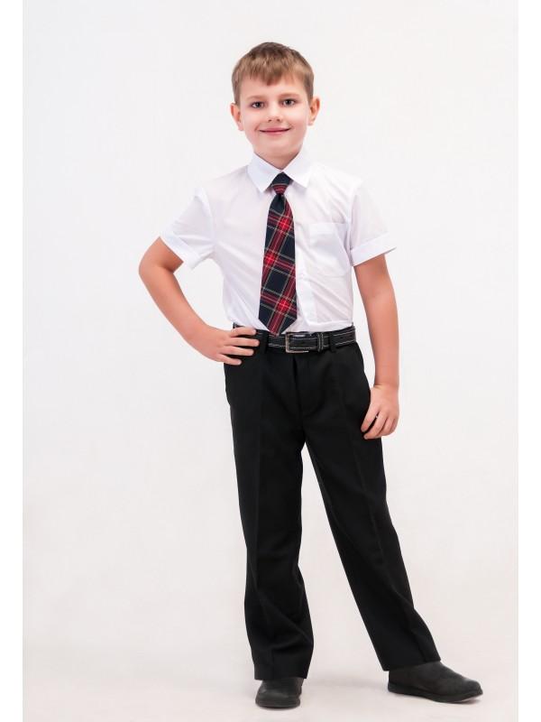 Брюки шкільні класичні для хлопчика чорні