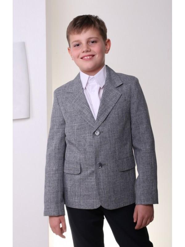 Піджак класичний сірий